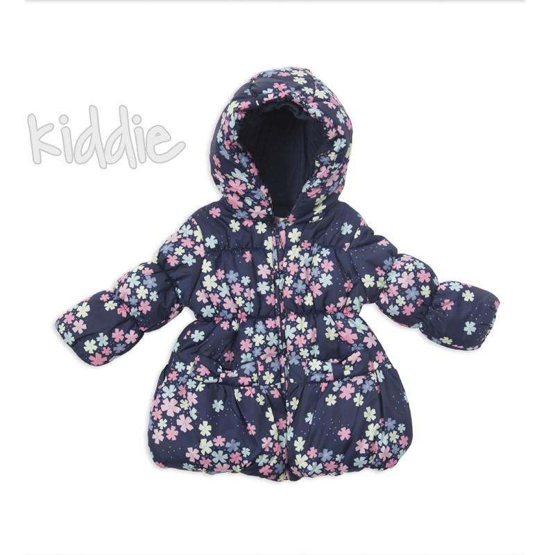 Geaca cu print floral Babybol pentru bebe