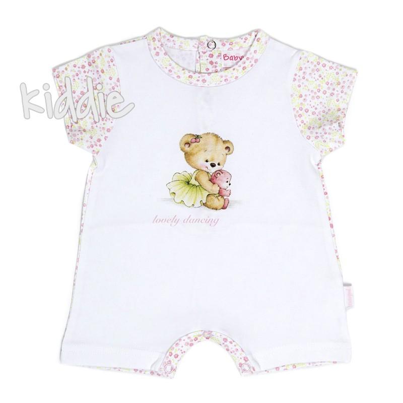 Salopeta Babybol Lovely dancing pentru fetita