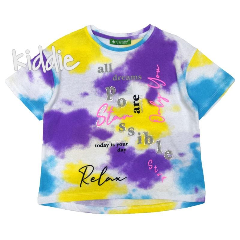 Tricou pentru fete Relax Cichlid