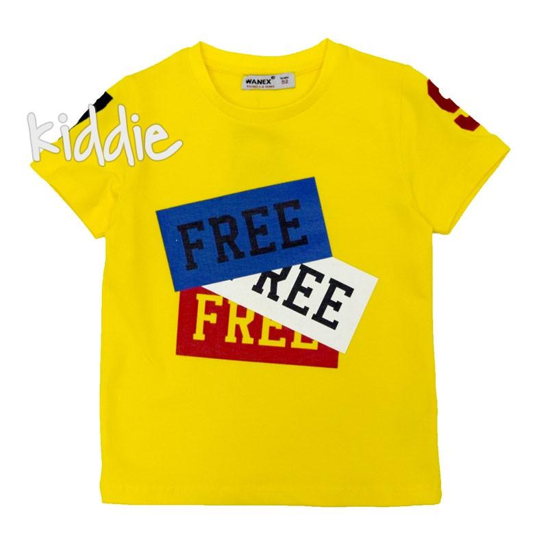 Tricou baiat Free Wanex