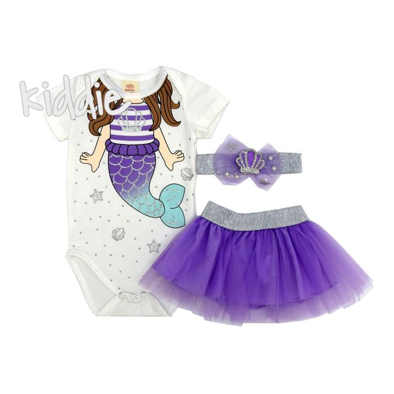 Set bebe Mica Sirena Bupper