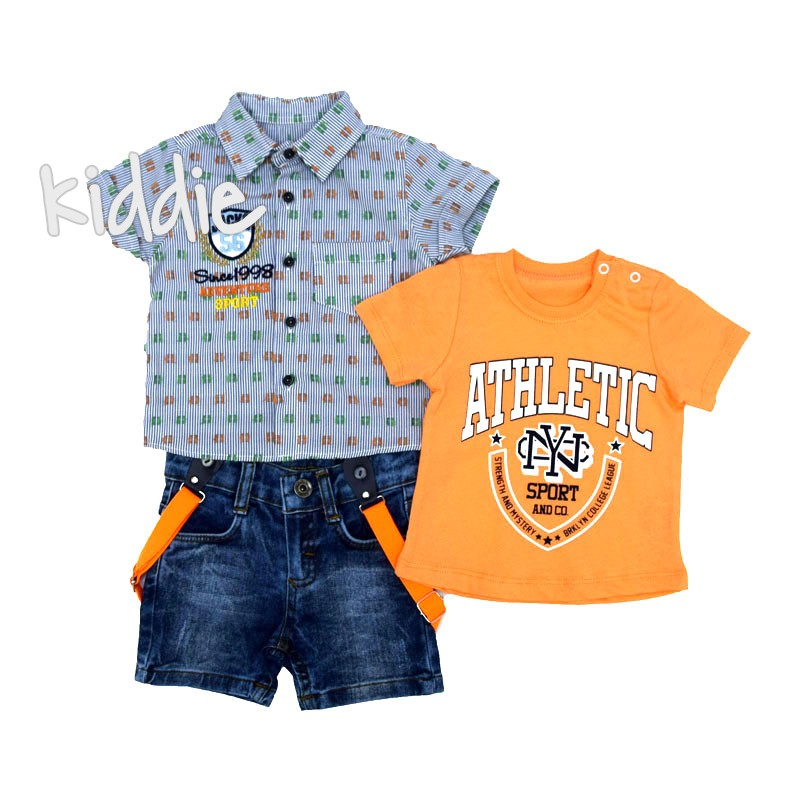 Set bebe 56 3 piese Athletic