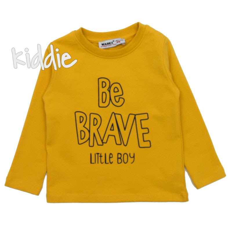 Bluza pentru baieti Be brave, Wanex