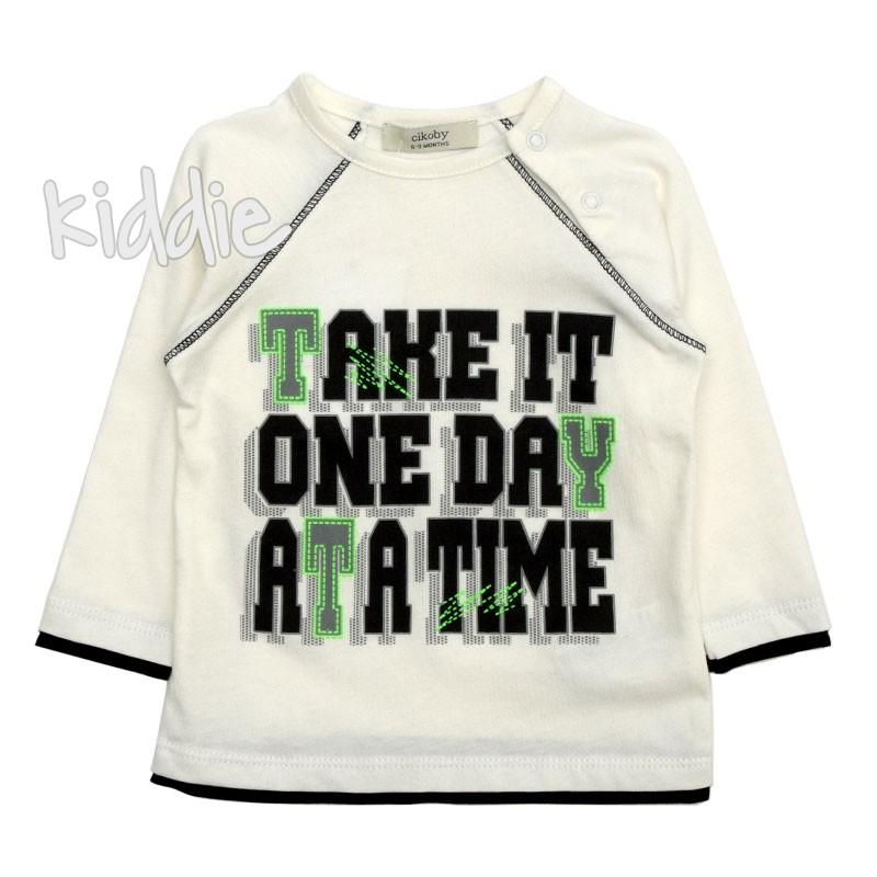 Bluza Take it one day, Cikoby pentru baiat