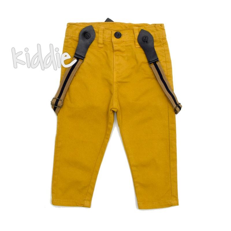 Pantaloni Cikoby cu bretele pentru baiat