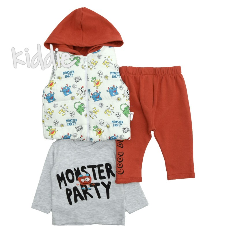 Compleu bebe  Monster Party Hippil Baby