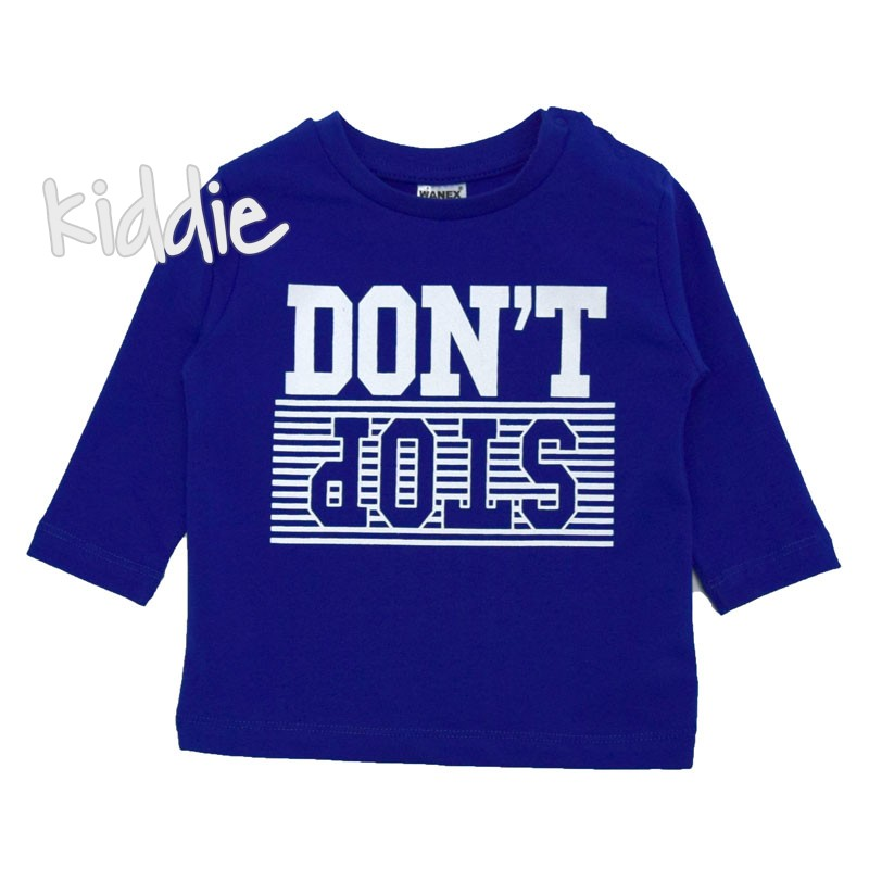 Bluza baiat Don't do Wanex