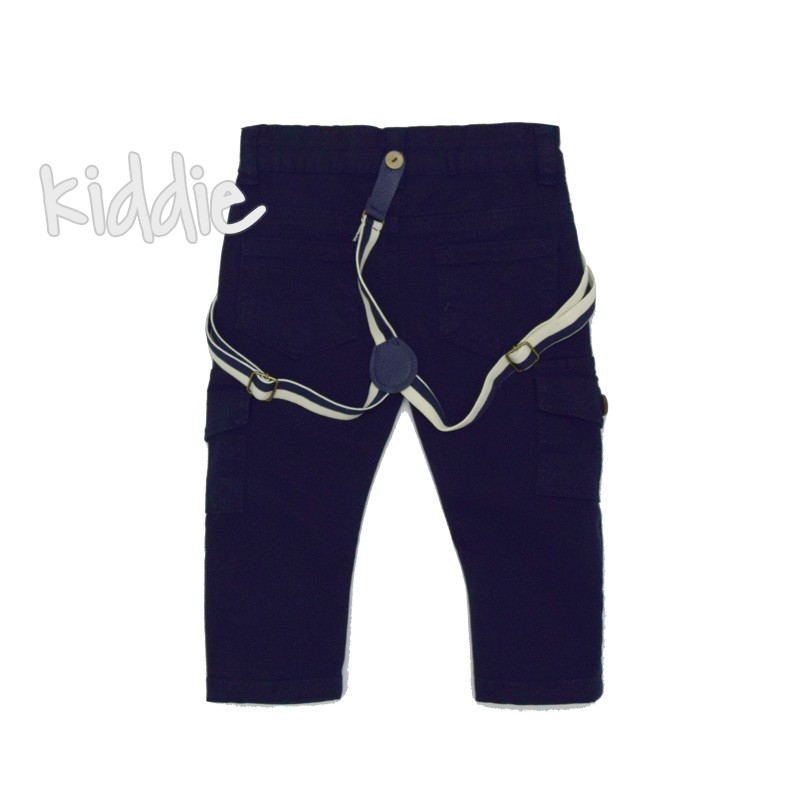Pantaloni cu bretele Cikoby baiat