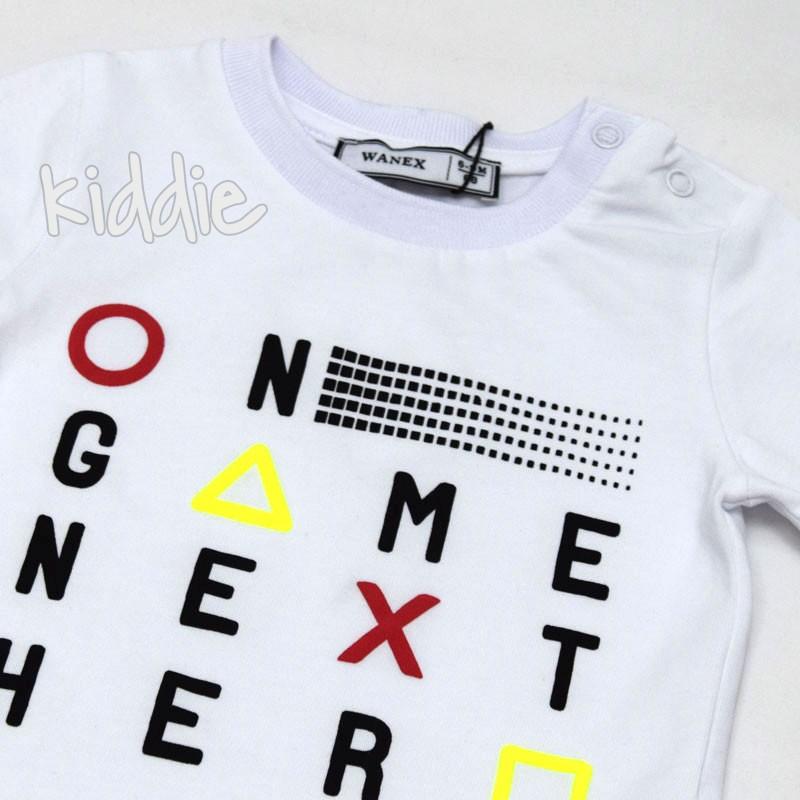 Tricou pentru baieti Wanex On Game