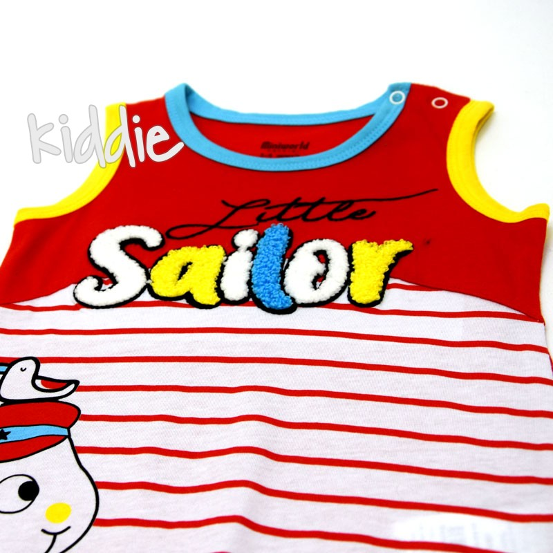 Salopeta bebe Miniworld Sailor