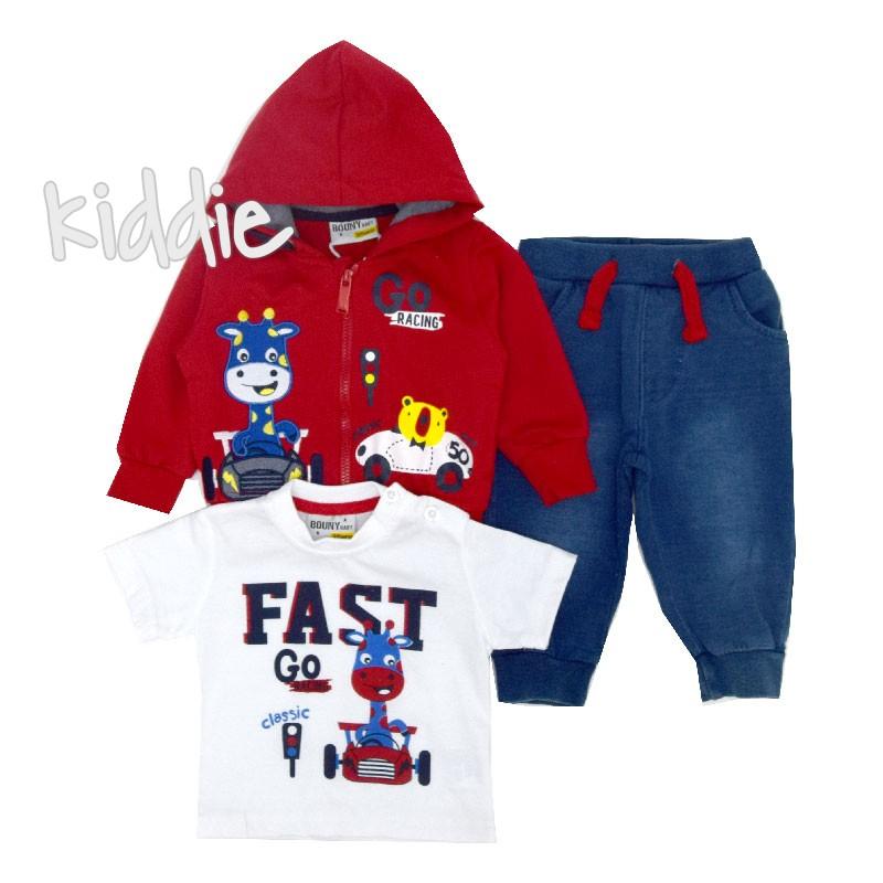 Set bebe Go Racing Bouny Baby