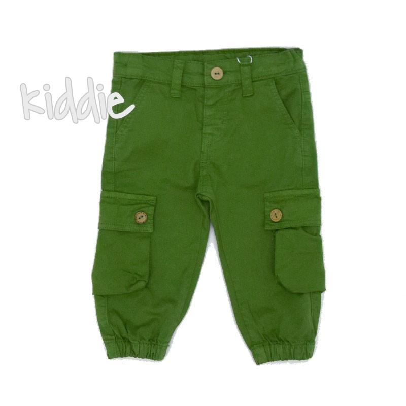 Pantaloni bebelusi Cikoby cu buzunare