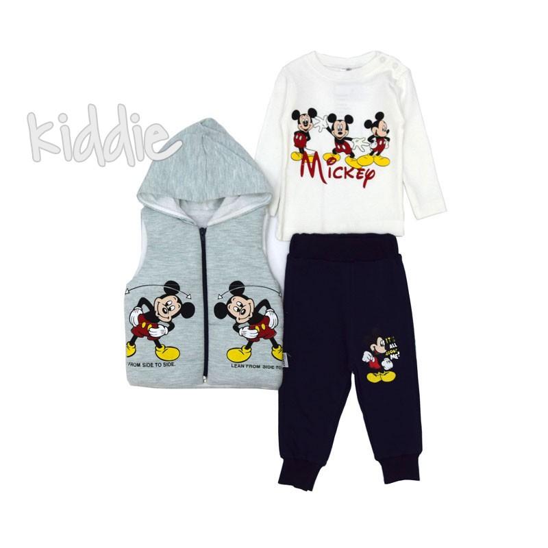 Set pentru bebelusi Mickey Mouse  Elakоn Baby