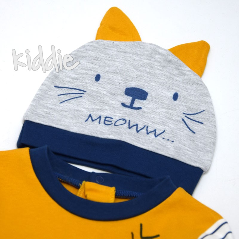 Combinezon bebelusi Meow Ciccimbaby