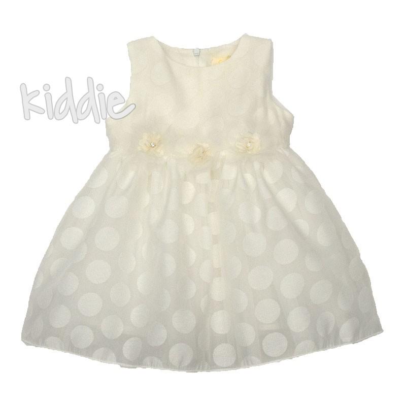 Rochie cu buline Contrast pentru bebe