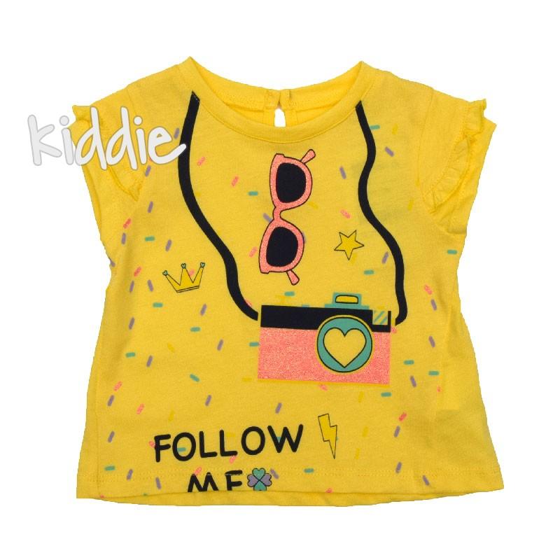 Tricou bebe Follow me, Cikoby