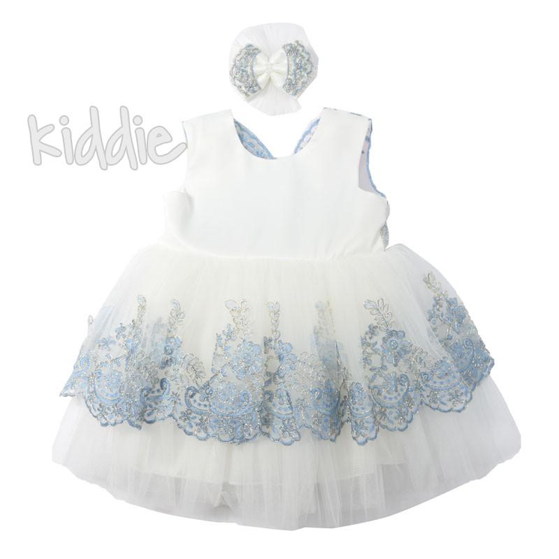Rochie eleganta cu agrafa Pugi baby