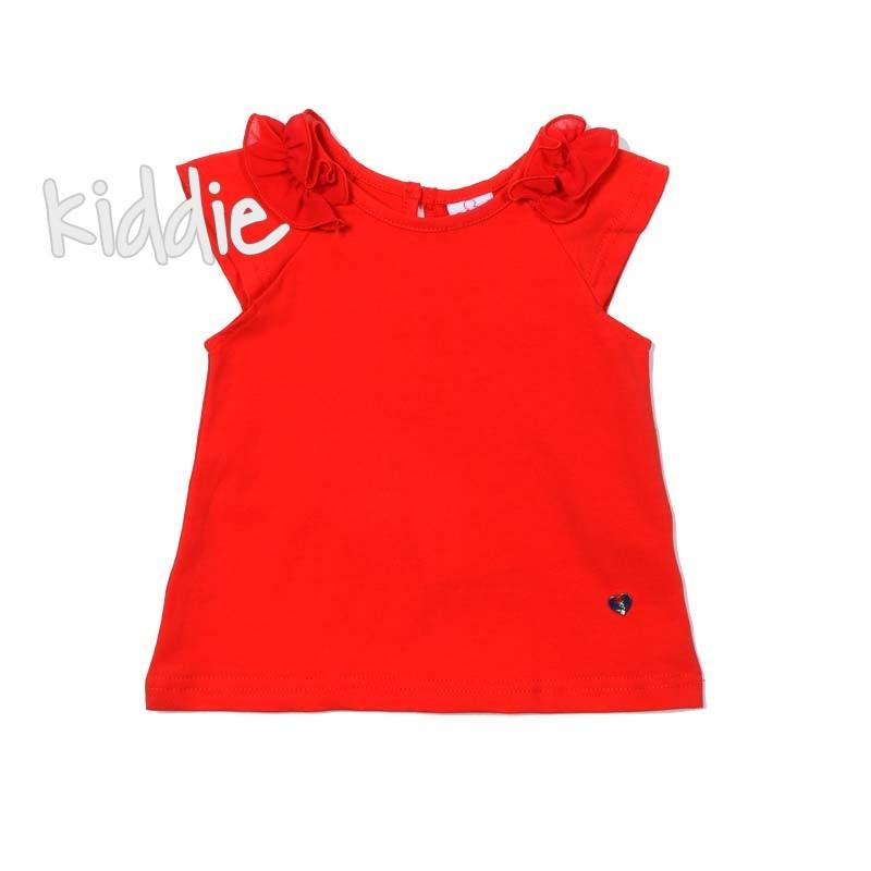 Tricou cu volanase Ativo pentru fata