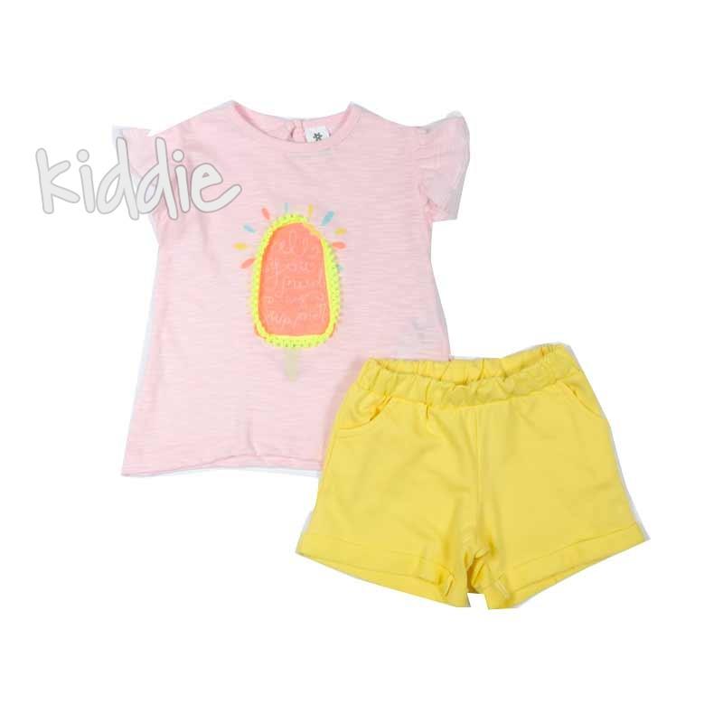 Set pentru bebelusi fetite Bebico