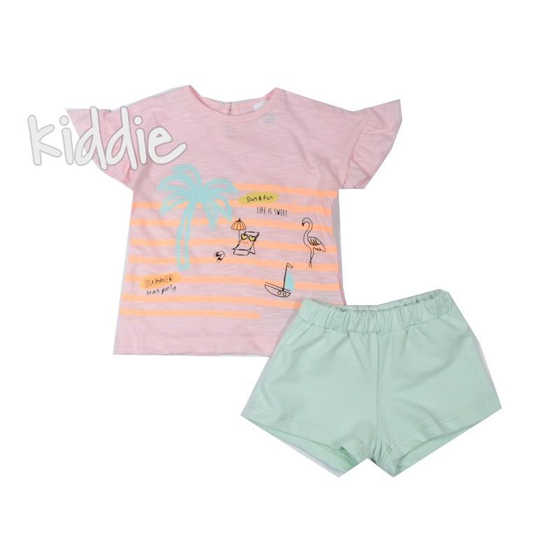 Set pentru fetite Summer and Fun Bebico
