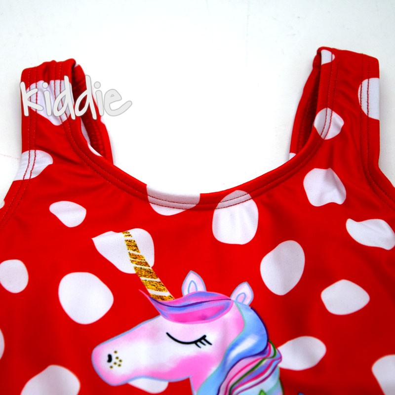 Costum de baie intreg Unicorn First Dream fete