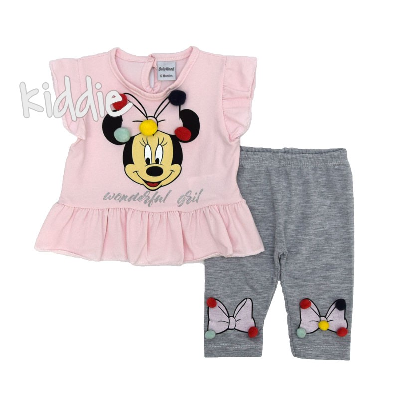Set bebe Wonderful Girl Minnie Mouse Baby Wood