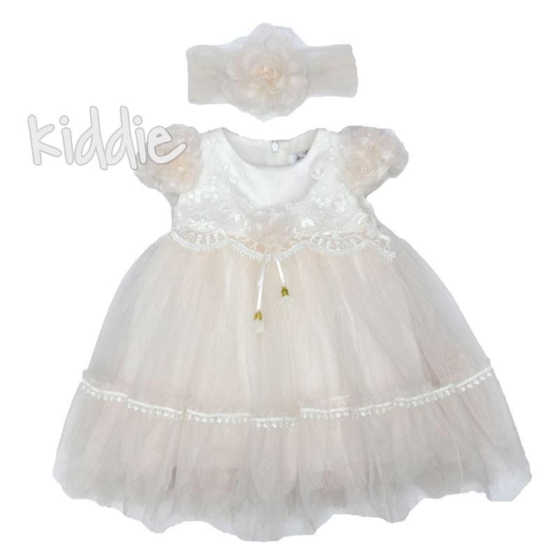 Rochie cu banderola bebe
