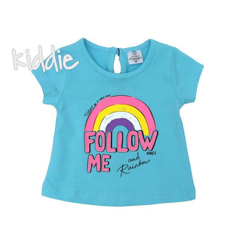 Tricou bebe Wanex Follow me