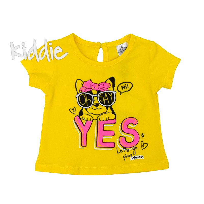 Tricou bebelusi  Wanex Yes