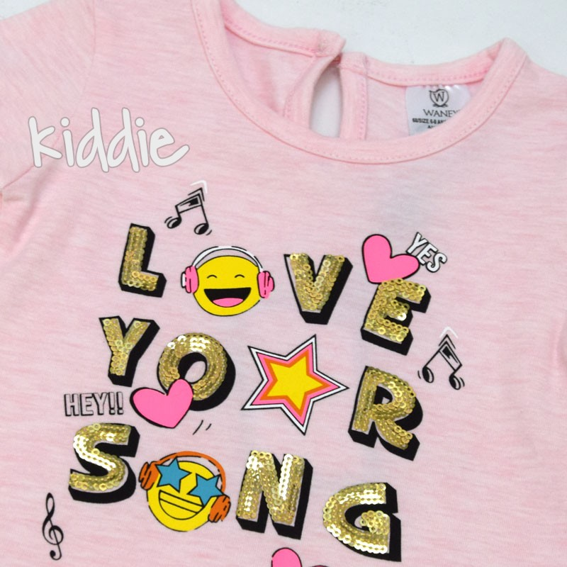 Tricou Wanex Love your song fete