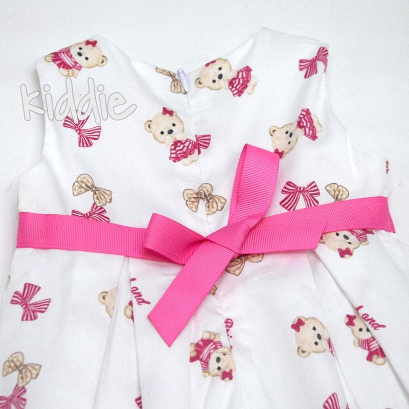 Rochie cu curea bebe