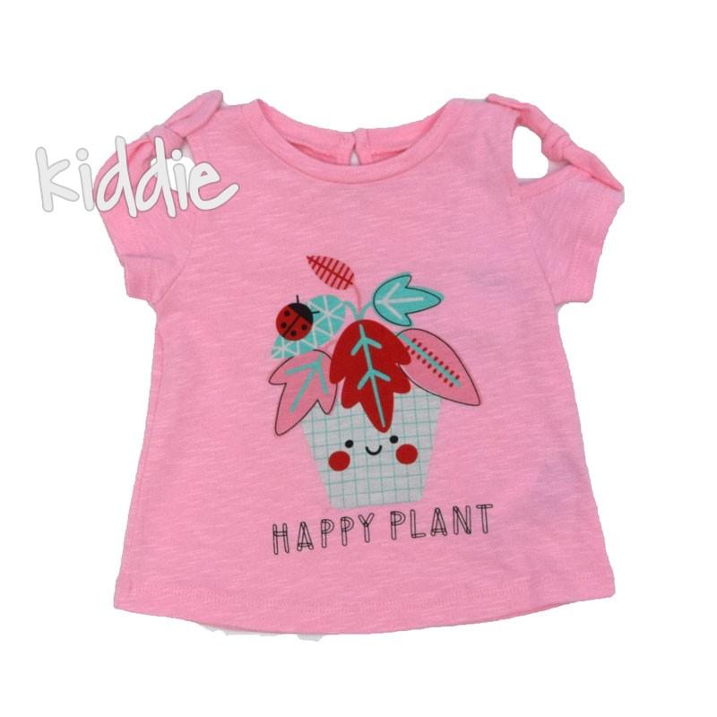 Tricou bebe Cikoby Happy Plant