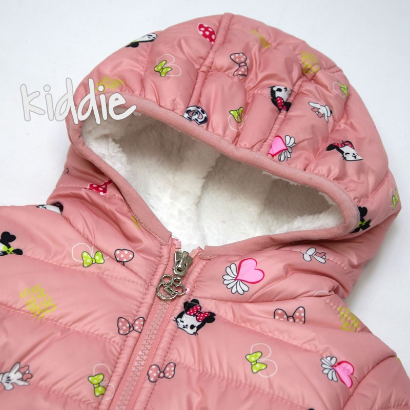 Geaca bebe Minnie Mouse Pink Baby