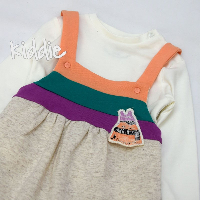 Combinezon si bluza fetite Tongs Baby