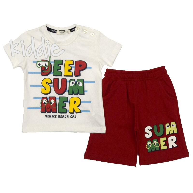 Compleu Deep Summer, Breeze pentru baiat