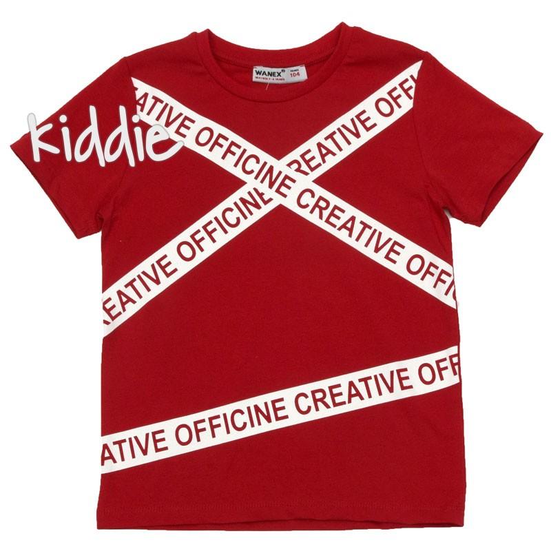 Tricou pentru baieti Officine, Wanex