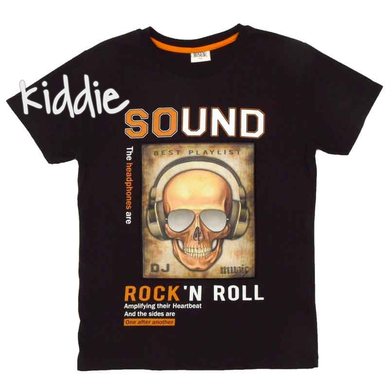 Tricou baieti Sound Rock and Roll, Busen