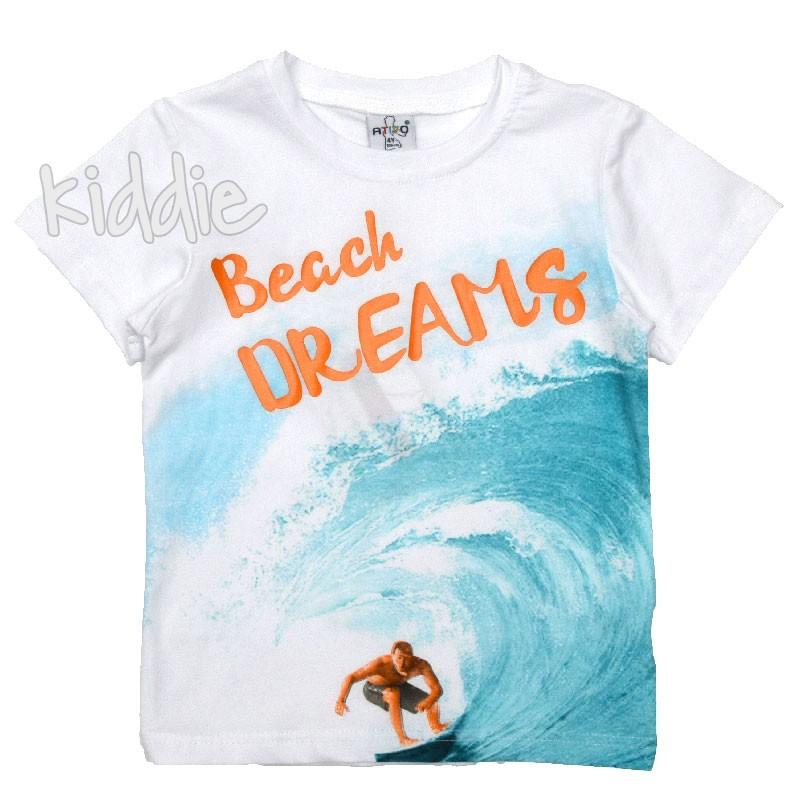 Tricou baiat Beach Dreams Ativo