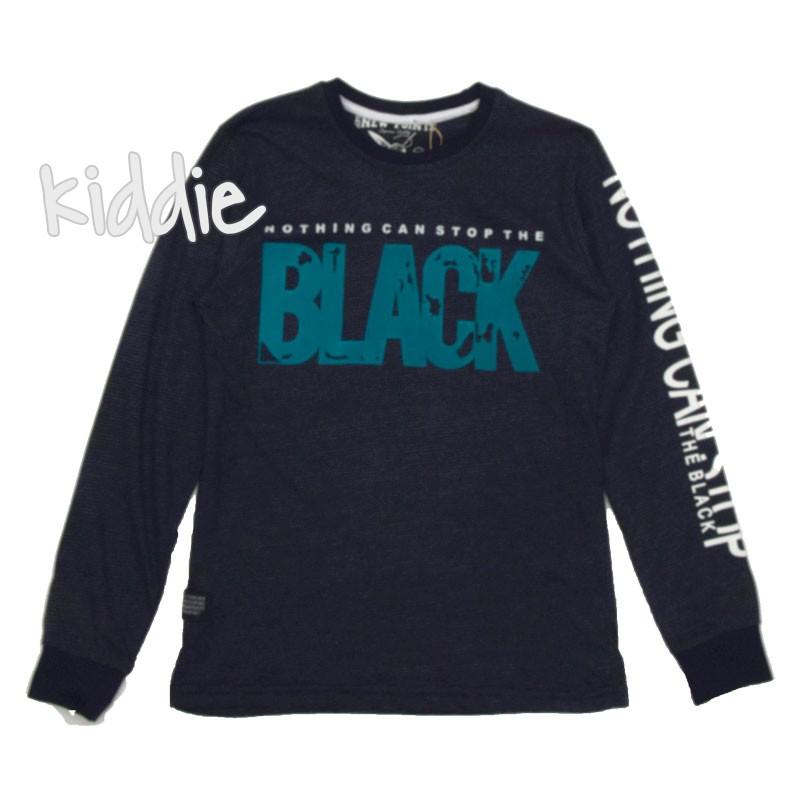 Bluza New Points pentru baiat Black