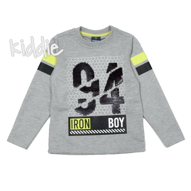 Bluza 34 baieti Iron boy