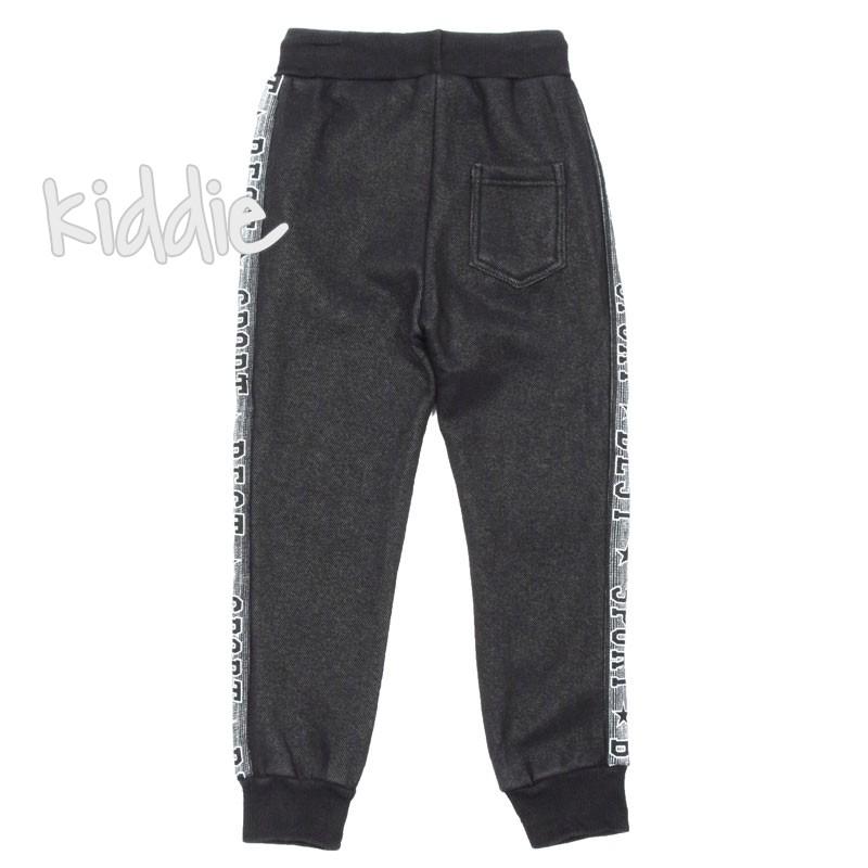 Pantaloni cu imprimeu Hello Boy copii