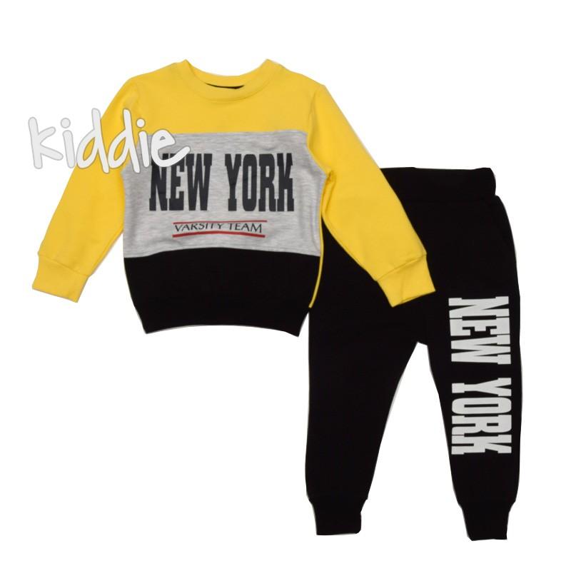 Bluza si pantaloni copii New York