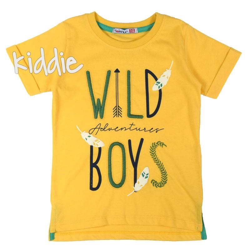 Tricou baieti  Wild boy Haknur