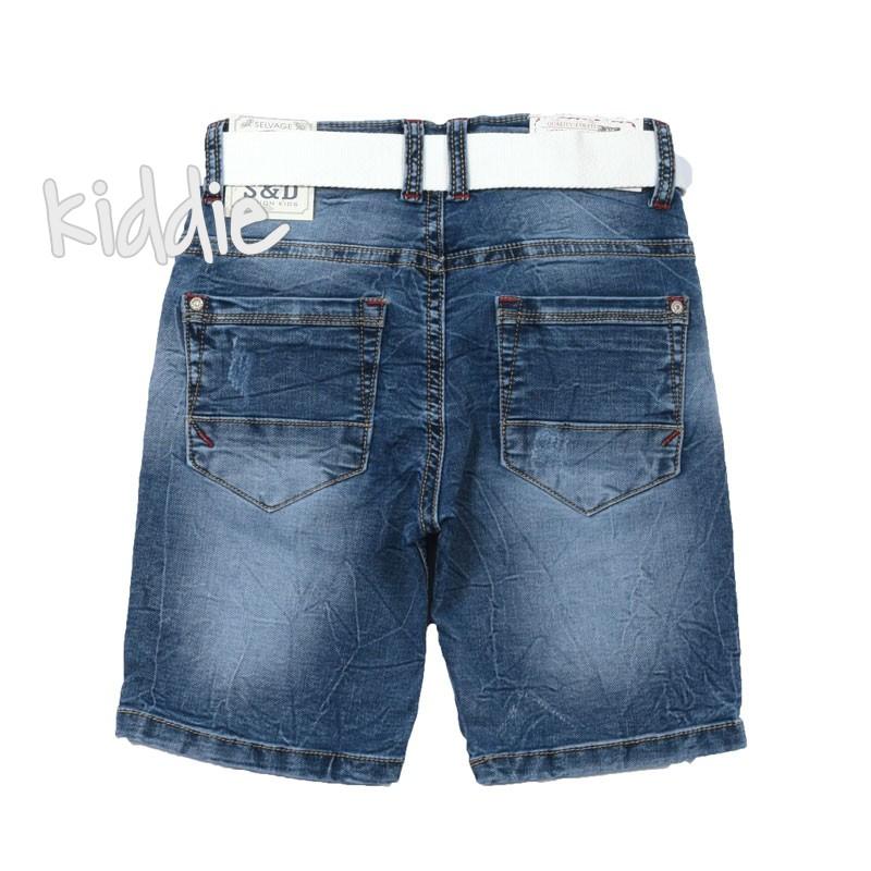 Pantaloni cu curea baieti
