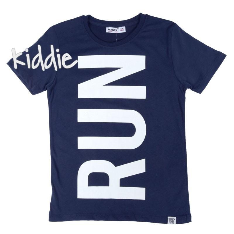 Tricou Run Wanex cu imprimeu baieti