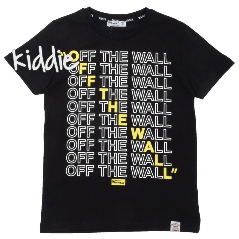 Tricou baieti Off The Wall Wanex