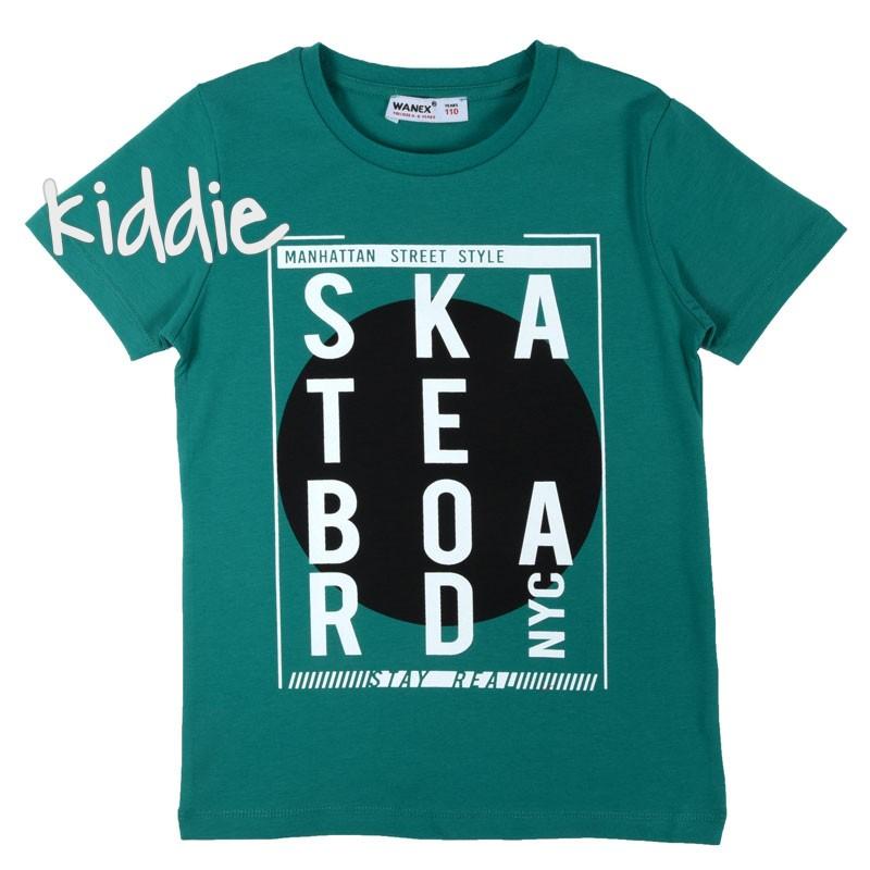 Tricou baieti Skateboard, Wanex