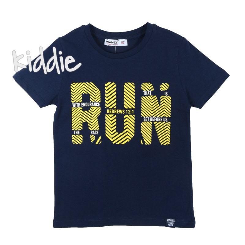 Tricou pentru baieti Run Wanex