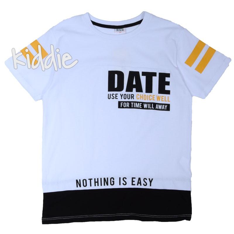 Tricou baieti Busen Date