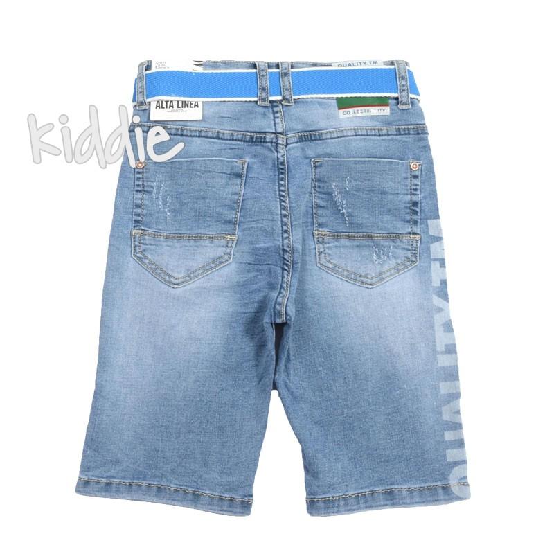 Pantaloni cu curea pentru baieti